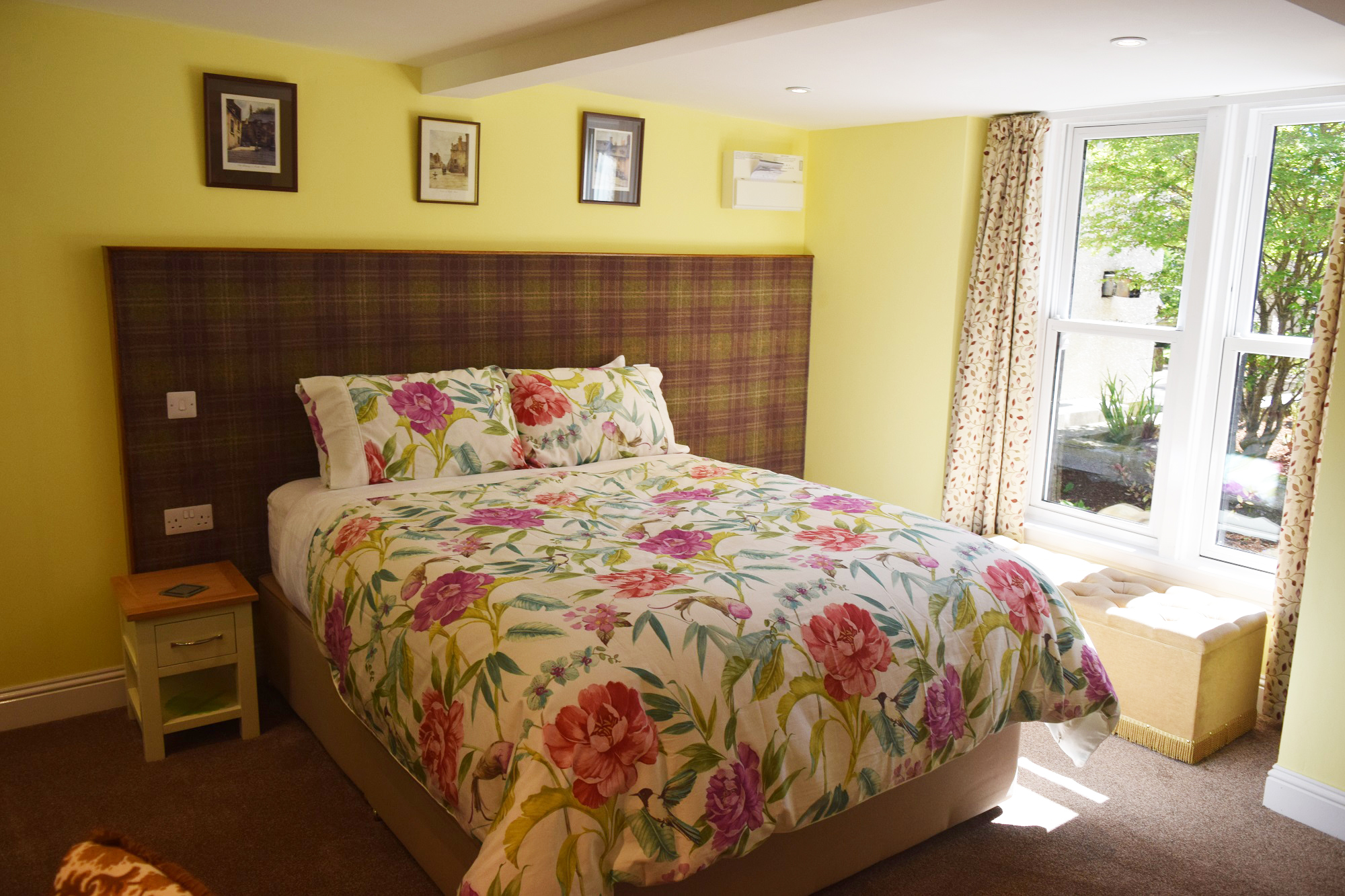 The Secret Garden Double Room - Old Drynie House - Bed and Breakfast ...